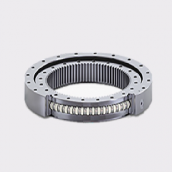 Light Type Slewing Ball Bearing with Hydraulic Retaining Rings